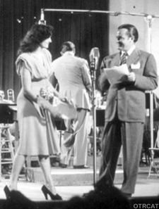 Bob Hope on a command performance broadcast