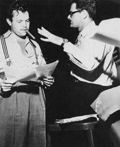 Norman Corwin & Orson Welles
