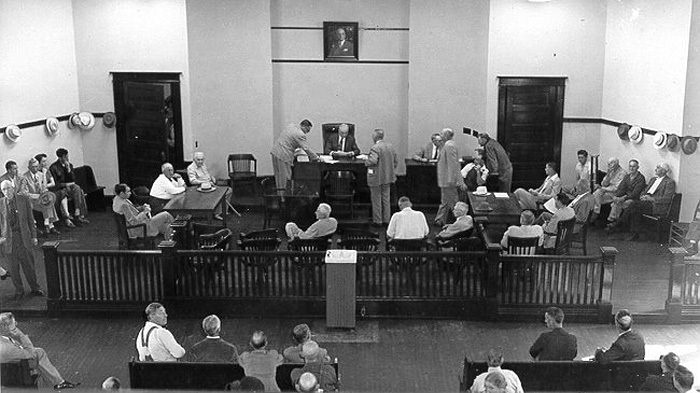 Courtroom 1940s
