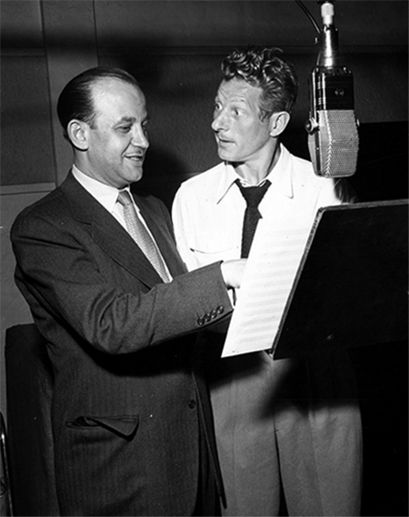 Danny Kaye and David Kapp 1947