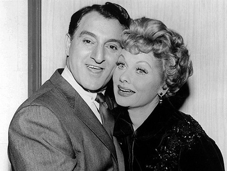 Danny Thomas and Lucille Ball