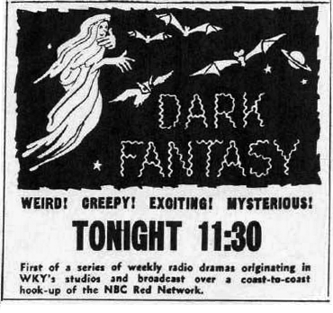 Dark Fantasy Advertisement
