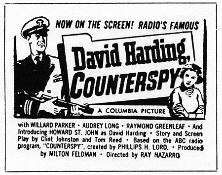 David Harding, Counterspy movie
