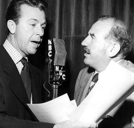 Ed Begley and Dick Powell