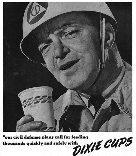 Dixie Cup Adverisement