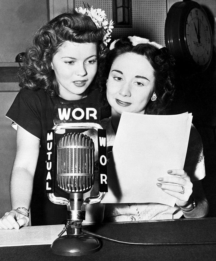 Shirley Temple & Dorothy Kilgallen
