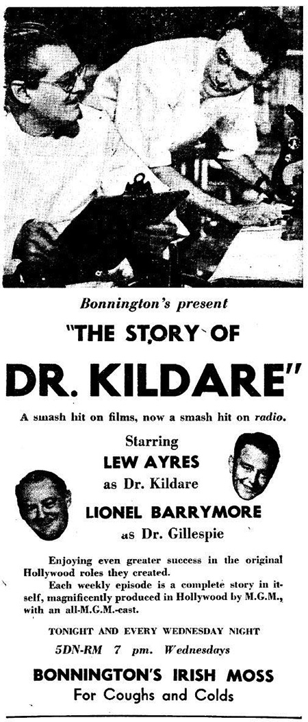 Dr Kildare Advertisement