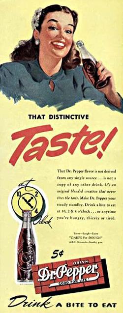 Dr Pepper 10-2-4 Advertisement