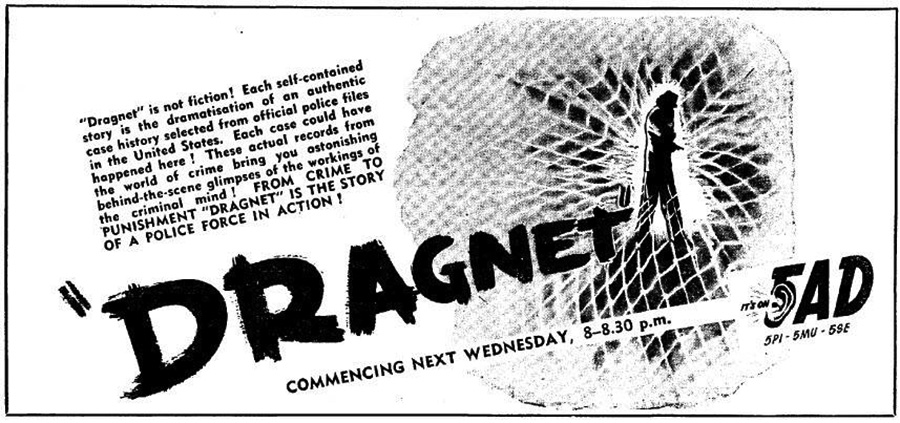Dragnet Advertisement