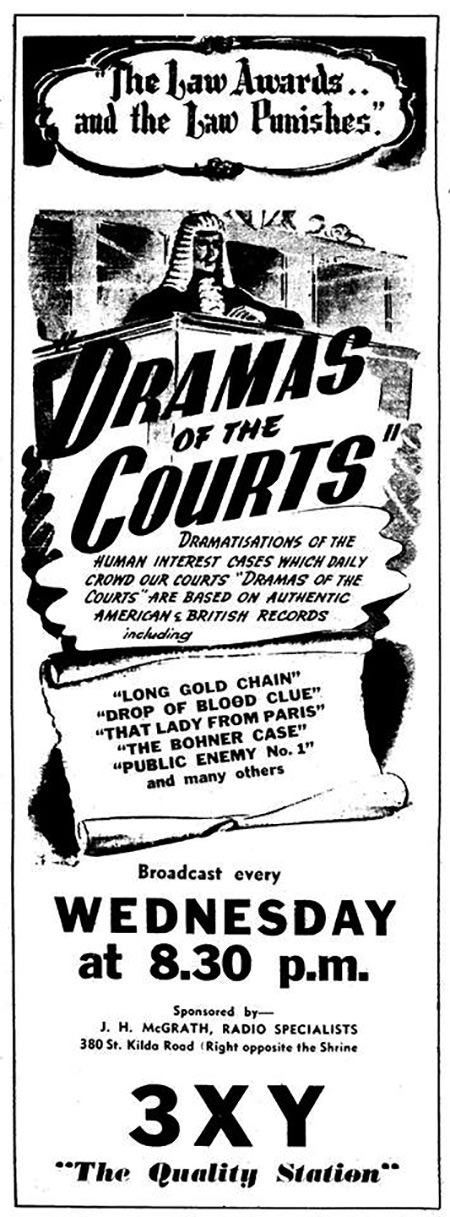 Drama of the Courts