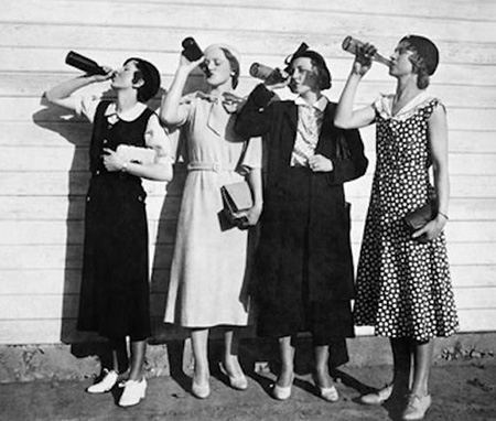 Drinking Ladies
