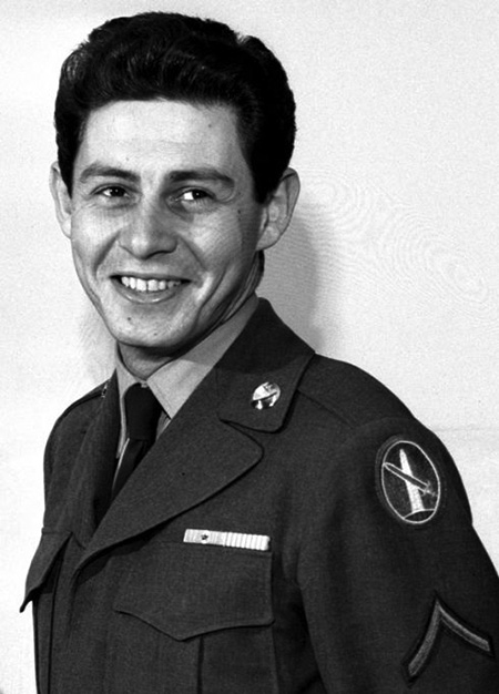 Eddie Fisher in Military