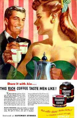 Edwards Coffee sponsored Night Editor Radio program