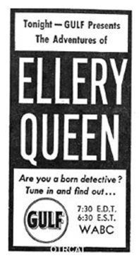 Adventures Ellery Queen