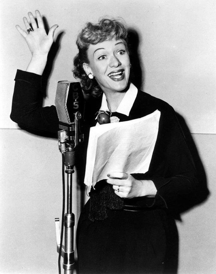 Eve Arden on the Radio