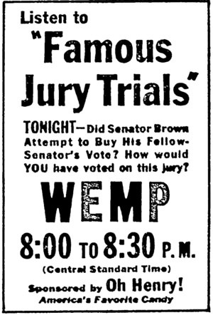 Famous Jury Trials