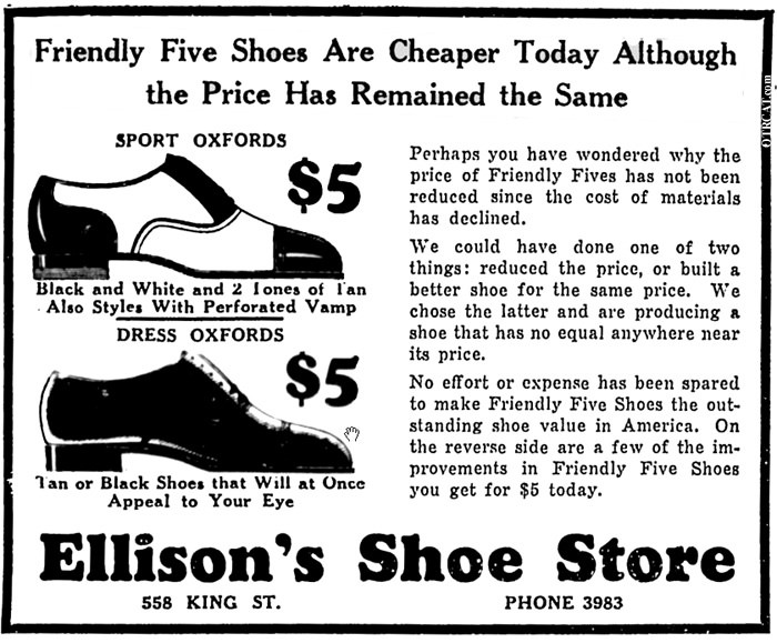Five Friendly Footnotes Shoestore