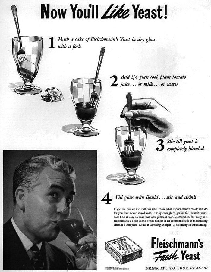 Fleischman Yeast Advertisement
