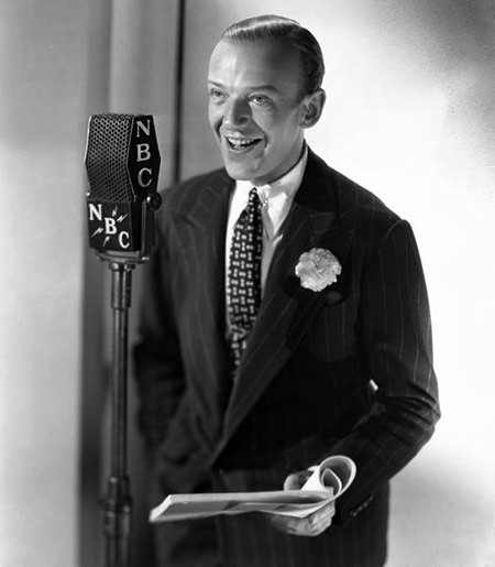 Fred Astaire on the Radio