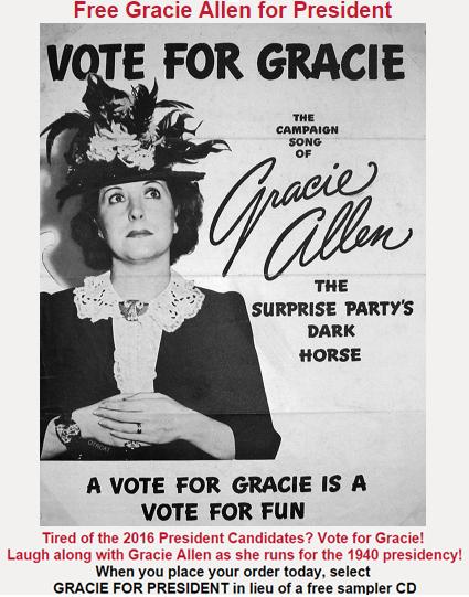 Free Gracie Allen