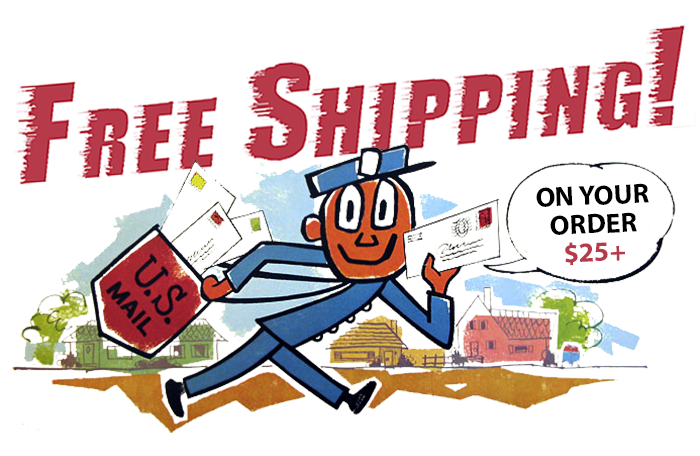 Free US Shipping $25+