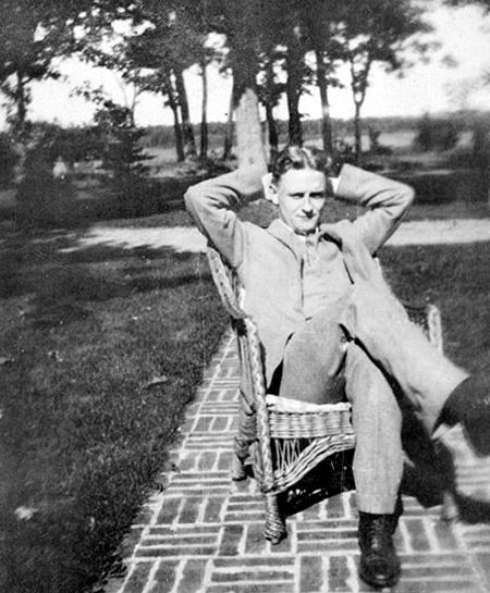 Fitzgerald relaxing