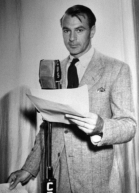 Gary Cooper on the Mic