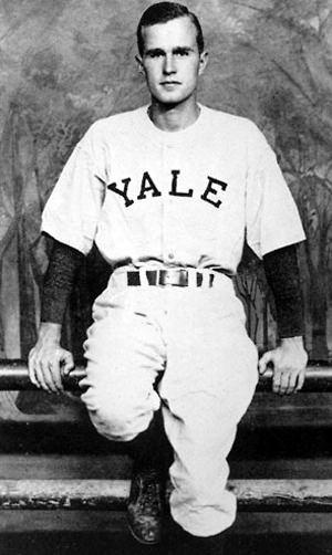 George HW Bush Yale