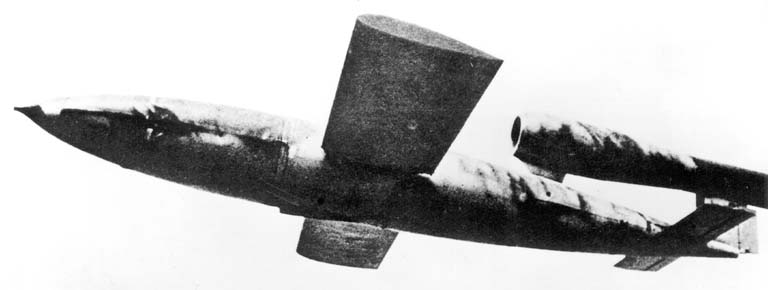 German Flying V-1 Bomb
