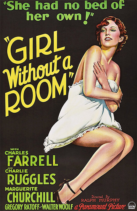 Girl without a Room Movie Poster
