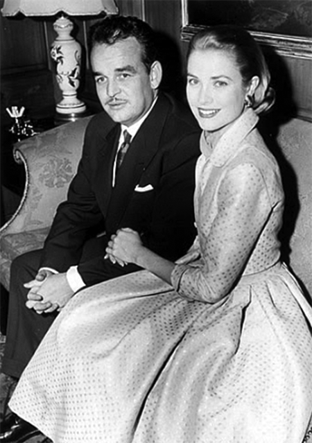 Grace Kelly Engaged