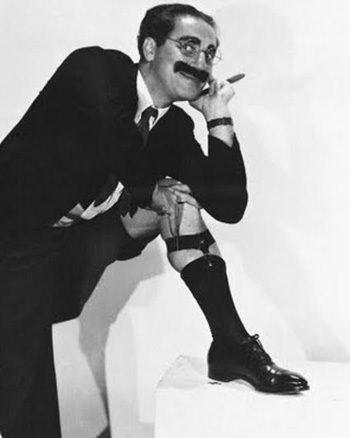 Groucho Marx Leg