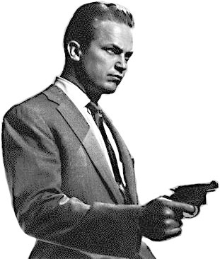 Spy with a Handgun