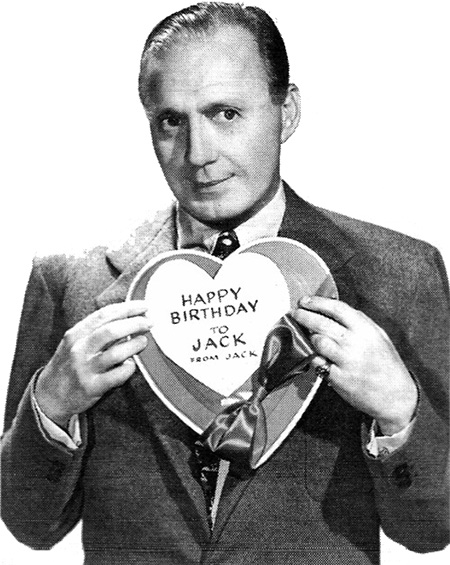 Jack Benny Birthday