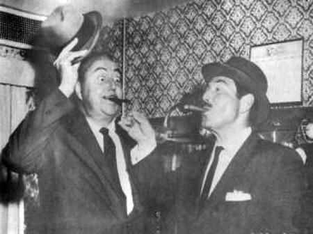 Harold Peary and Willard Waterman