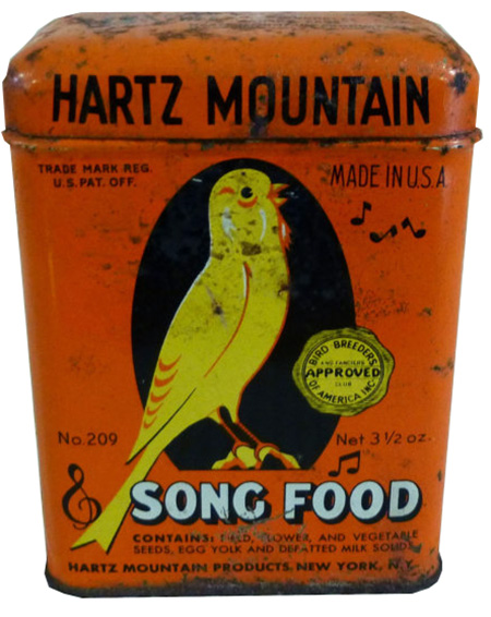 Hartz Mountain Bird Song Food