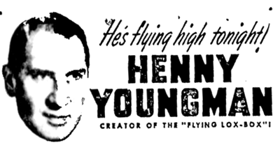 Henny Youngman Advertisement