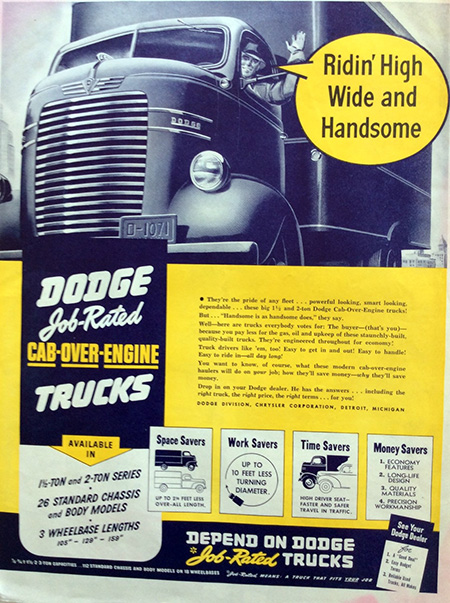 Dodge Trucks -- High Wide and Handsome