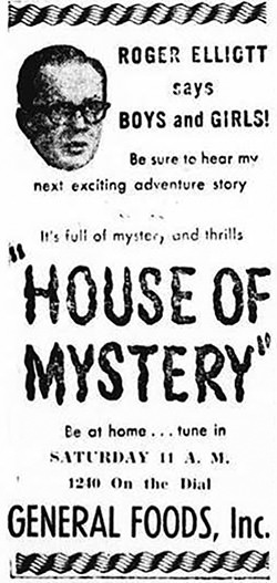 House of Mystery Advertisement