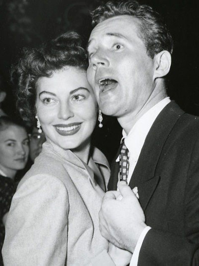 Howard Duff & Ava Gardner