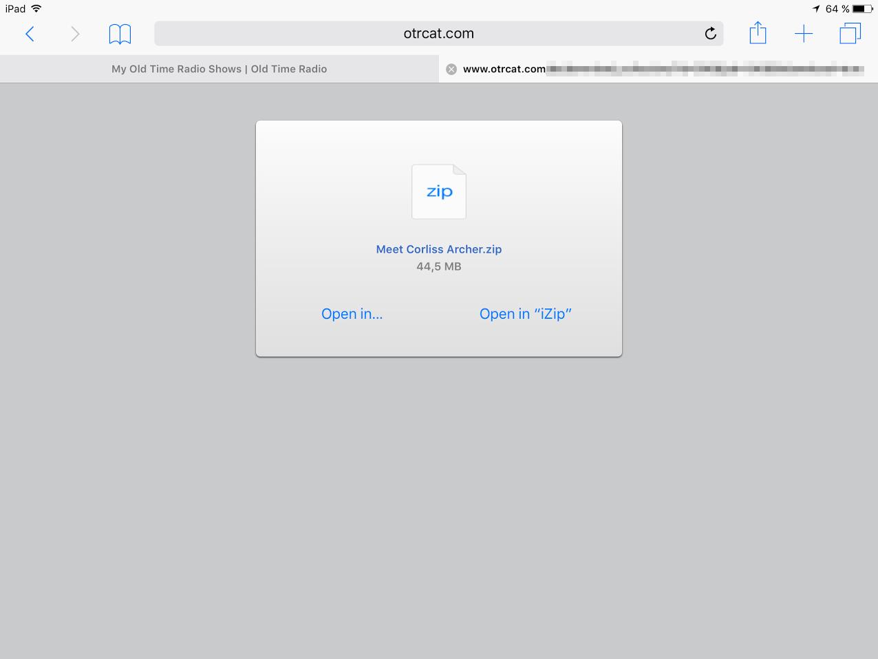 download zip video files on ipad mini