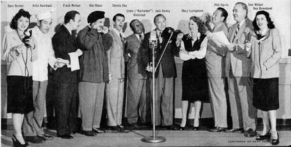 Jack Benny Cast Photo