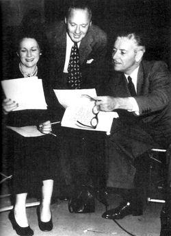 Jack Benny & Ronald Colmans