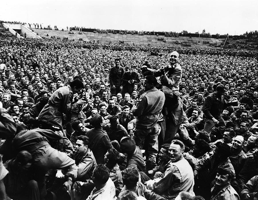 Jack Benny USO Tour 1945