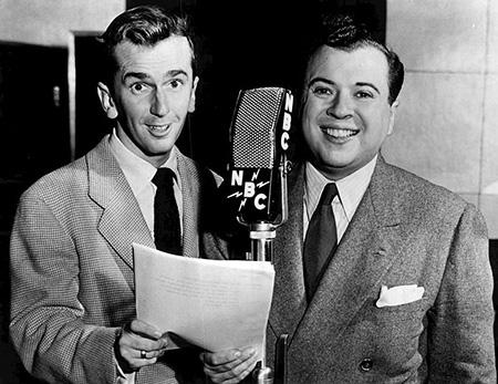 Jack Kelk and Ezra Stone