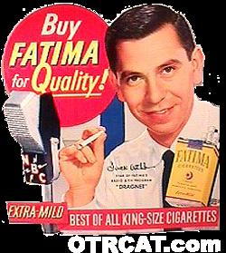 Jack Webb Fatima Cigarettes