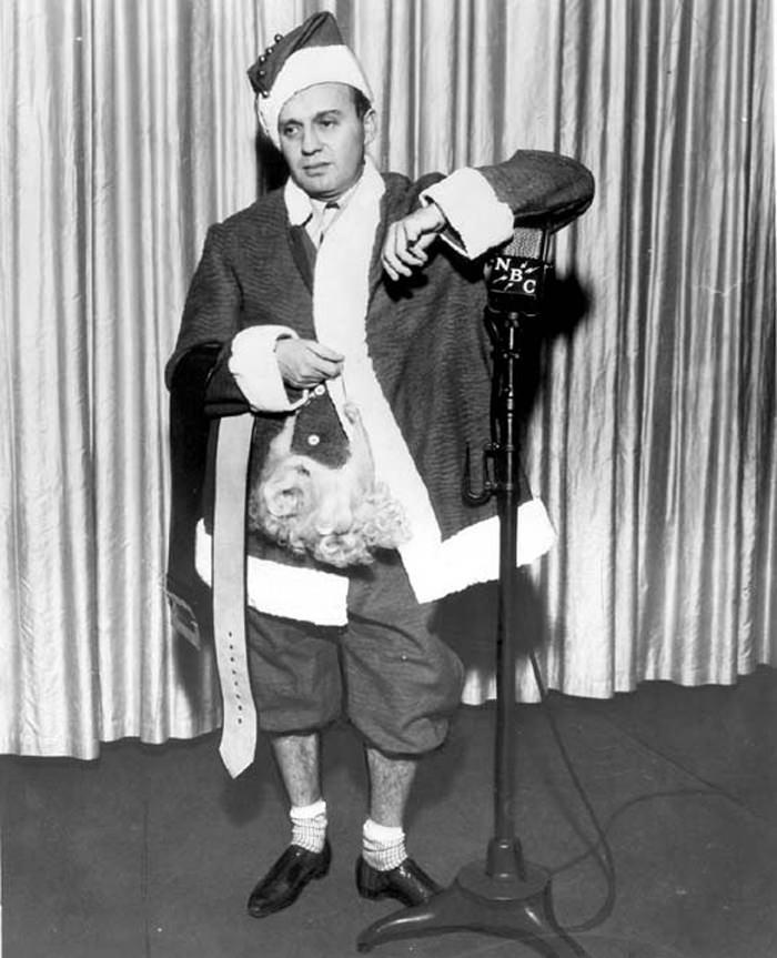 Jack Benny Santa