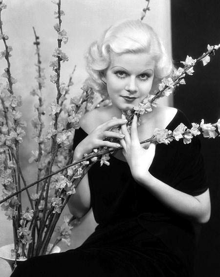 Harlowe and flowers
