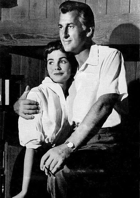 Stewart Granger and Jean Simmons