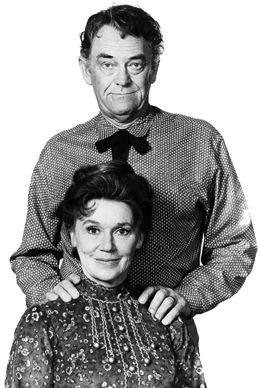 Jeanette Nolan and husband John McIntire